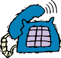 Free Stock Photo: Illustration of a telephone