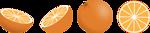 Free Stock Photo: Illustration of oranges
