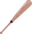 Free Stock Photo: Illustration of a baseball bat