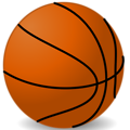 Free Stock Photo: Illustration of a basketball