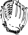 Free Stock Photo: Illustration of a baseball mitt