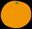 Free Stock Photo: Illustration of an orange