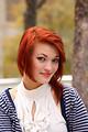 Free Stock Photo: A beautiful young woman posing outdoors