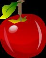 Free Stock Photo: Illustration of an apple