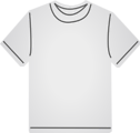 Free Stock Photo: Illustration of a gray t-shirt