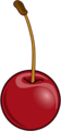 Free Stock Photo: Illustration of a cherry