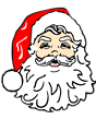 Free Stock Photo: Illustration of Santa Claus