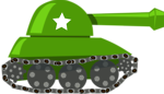 Free Stock Photo: Illustration of an army tank