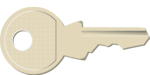 Free Stock Photo: Illustration of a key
