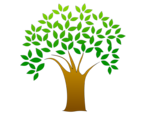 Free Stock Photo: Illustration of a tree with leaves