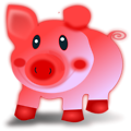 Free Stock Photo: Illustration of a cartoon pig