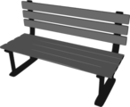 Free Stock Photo: Illustration of a bench