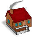 Free Stock Photo: Illustration of a 3d house