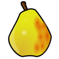 Free Stock Photo: Illustration of a pear