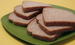 Free Stock Photo: Six slices of whole wheat bread