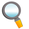 Free Stock Photo: Illustration of a magnifying glass