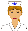 Free Stock Photo: Illustration of a nurse