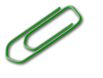 Free Stock Photo: Illustration of a paper clip