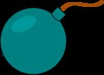 Free Stock Photo: Illustration of a bomb