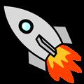 Free Stock Photo: Illustration of a rocket