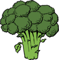 Free Stock Photo: Illustration of broccoli