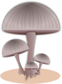 Free Stock Photo: Illustration of capped mushrooms