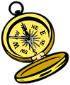 Free Stock Photo: Illustration of a compass