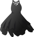 Free Stock Photo: Illustration of a black dress