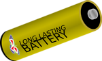 Free Stock Photo: Illustration of a battery