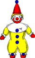 Free Stock Photo: Illustration of a cartoon clown