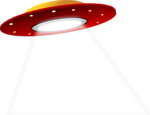 Free Stock Photo: Illustration of a ufo