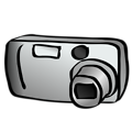 Free Stock Photo: Illustration of a camera