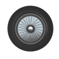 Free Stock Photo: Illustration of a car tire