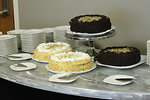 Free Stock Photo: Assorted cakes on a dessert table