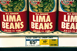 Free Stock Photo: Cans of lima beans