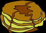 Free Stock Photo: Illustration of pancakes