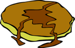Free Stock Photo: Illustration of a pancake