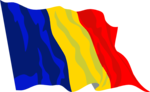 Free Stock Photo: Illustrated flag of Romania