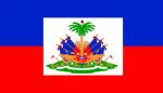 Free Stock Photo: Illustrated flag of Haiti