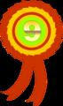 Free Stock Photo: Illustration of a ninth place ribbon