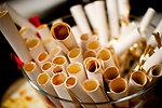 Free Stock Photo: Paper scrolls