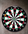 Free Stock Photo: A dartboard