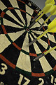 Free Stock Photo: Dartboard close-up