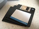Free Stock Photo: Floppy discs