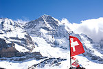 Free Stock Photo: Swiss flag