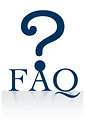 Free Stock Photo: Illustration of a question mark and FAQ text