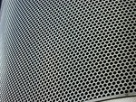 Free Stock Photo: Closeup of a metal grate