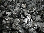 Free Stock Photo: Closeup of a pile of coal