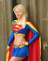 Free Stock Photo: Beautiful woman in a Supergirl costume at Dragoncon