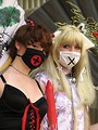 Free Stock Photo: Two teen girls in anime costume at Dragoncon 2008
